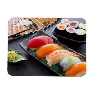 Sushi and rolls magnet