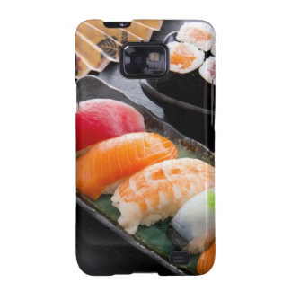 Sushi and rolls samsung galaxy s2 cases