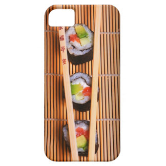 Sushi and wooden chopsticks barely there iPhone 5 case