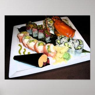 """Sushi"" Art Print"