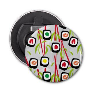 Sushi background bottle opener