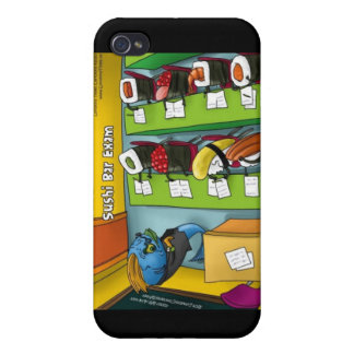 Sushi Bar Exam Mugs Cards Gifts Etc iPhone 4 Covers
