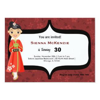 Sushi Birthday Card