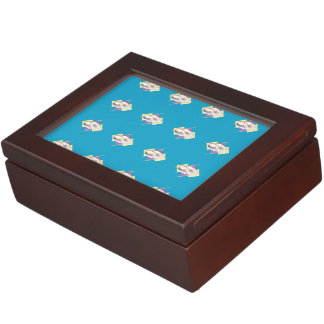 Sushi blue memory boxes