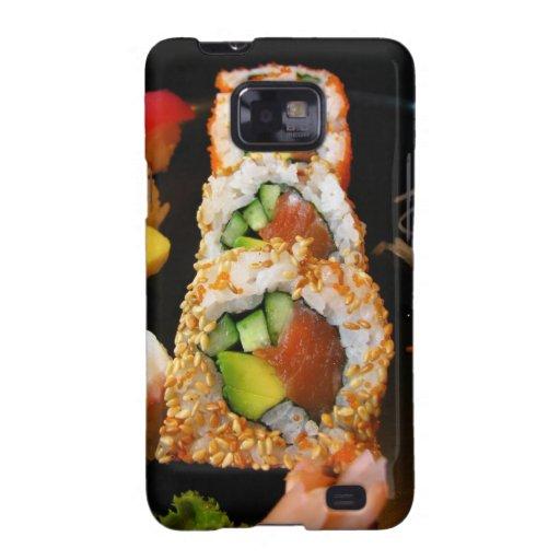Sushi California roll sashimi photo Galaxy case Samsung Galaxy S Cover
