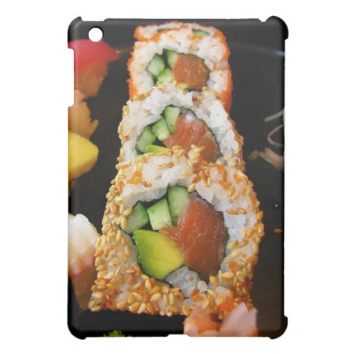 Sushi California roll sashimi photo iPad case