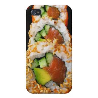 Sushi California roll sashimi photo iPhone 4 case
