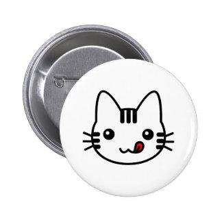 Sushi Cat 6 Cm Round Badge