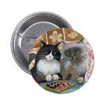 Sushi Cat Lovely Pair Pinback Button