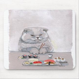 Sushi Cat Mousepad