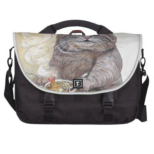 Sushi Cat Tempura Udon Laptop Messenger Bag