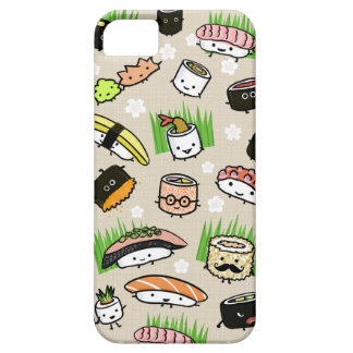 Sushi Characters Pattern Barely There iPhone 5 Case