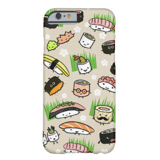 Sushi Characters Pattern Barely There iPhone 6 Case