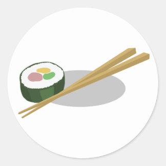 Sushi Classic Round Sticker