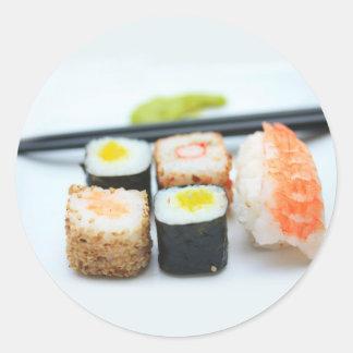 Sushi! Classic Round Sticker