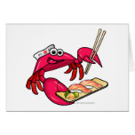 Sushi Crab Card