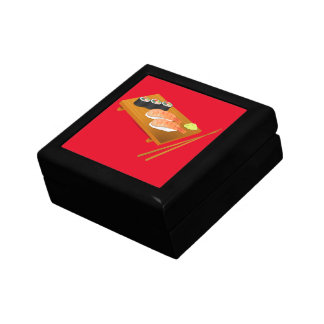 Sushi cute Japanese food Small Square Gift Box