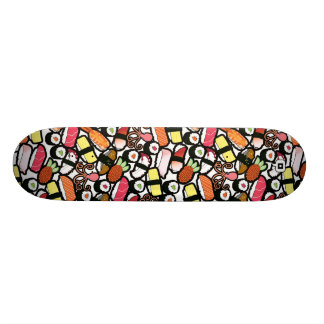 sushi deck 18.1 cm old school skateboard deck