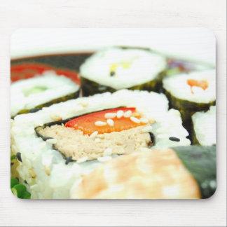 Sushi design mouse mat