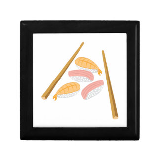 Sushi Dinner Small Square Gift Box