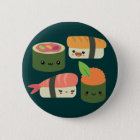 Sushi Friends 6 Cm Round Badge