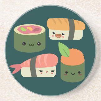 Sushi Friends Coaster