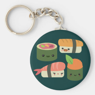 Sushi Friends Key Ring