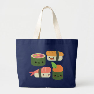 Sushi Friends Large Tote Bag