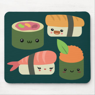 Sushi Friends Mouse Pad