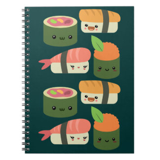 Sushi Friends Notebook