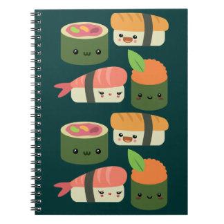 Sushi Friends Notebook