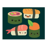 Sushi Friends Postcards