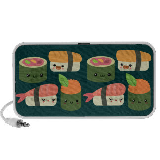 Sushi Friends Notebook Speakers