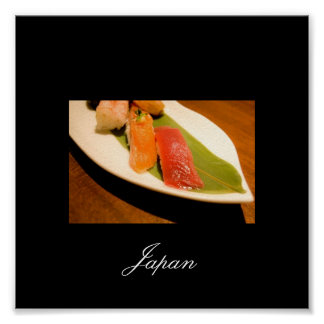 Sushi from Japan, Images of Japan Poster