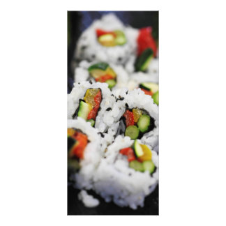 Sushi Full Color Rack Card