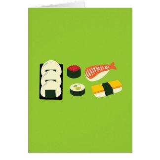 Sushi Fun Card