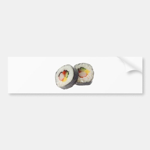 Sushi - Futomaki Bumper Sticker