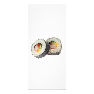 Sushi - Futomaki Rack Card
