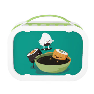Sushi Happy Bath time Lunch Boxes