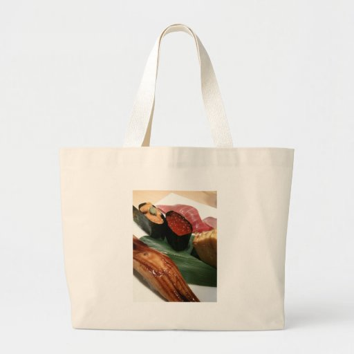 Sushi in Japan Canvas Bags
