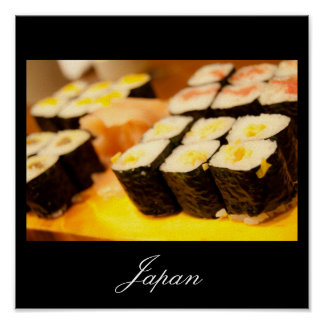 Sushi in Japan Poster