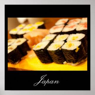 Sushi in Japan Poster