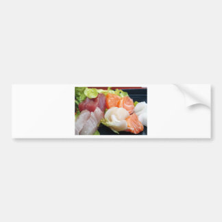 Sushi Japanese Delicious Asian Food Yummy Bumper Sticker