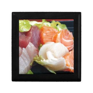Sushi Japanese Delicious Asian Food Yummy Keepsake Boxes