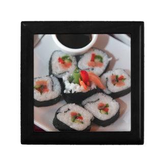 Sushi Japanese Restaurant Sauce Jewelry Box