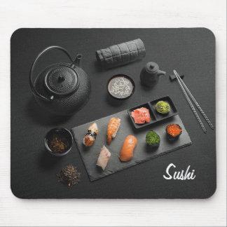 Sushi Japanese Ritual Throw Pillow Mouse Mat