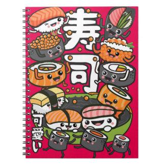 Sushi Kawaii Notebook