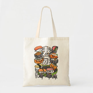 Sushi Kawaii Tote Bag
