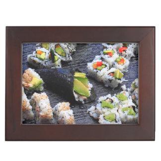 Sushi Keepsake Boxes