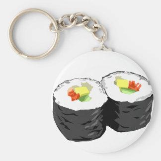 Sushi Key Ring